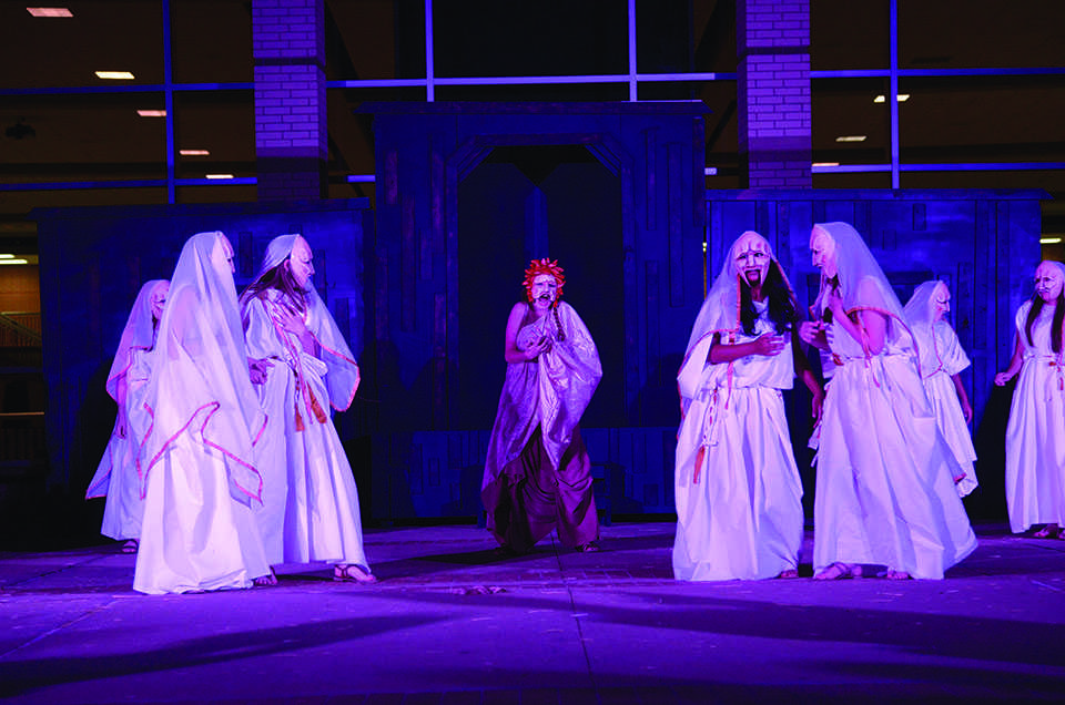 an analysis of the greek tragedy medea by euripedes The eponymous female characters of greek tragedy, antigone they won't be disturbed by the contrast between medea and euripides' play, which.