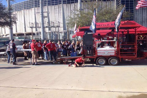 Tailgating with the Texans