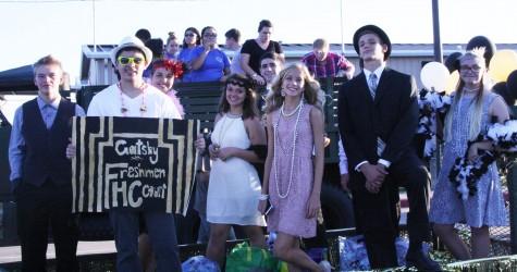 freshman hoco court
