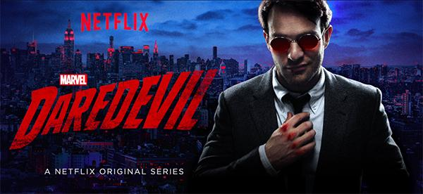 Daredevil's cover art as seen on Netflix
