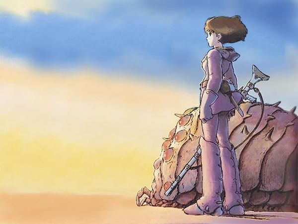 A scene taken from Nausicaa: of the Valley of The Wind