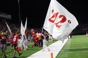 Kyle Rovello and the 212 flag.