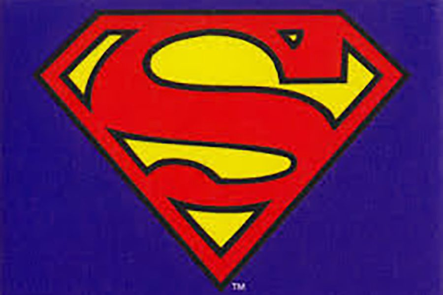 The Supergirl logo, also known as the Superman logo.