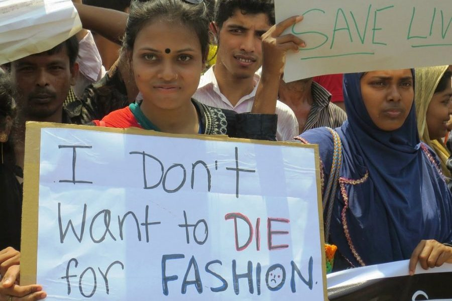 Many garment workers die making clothes for fast fashion brands