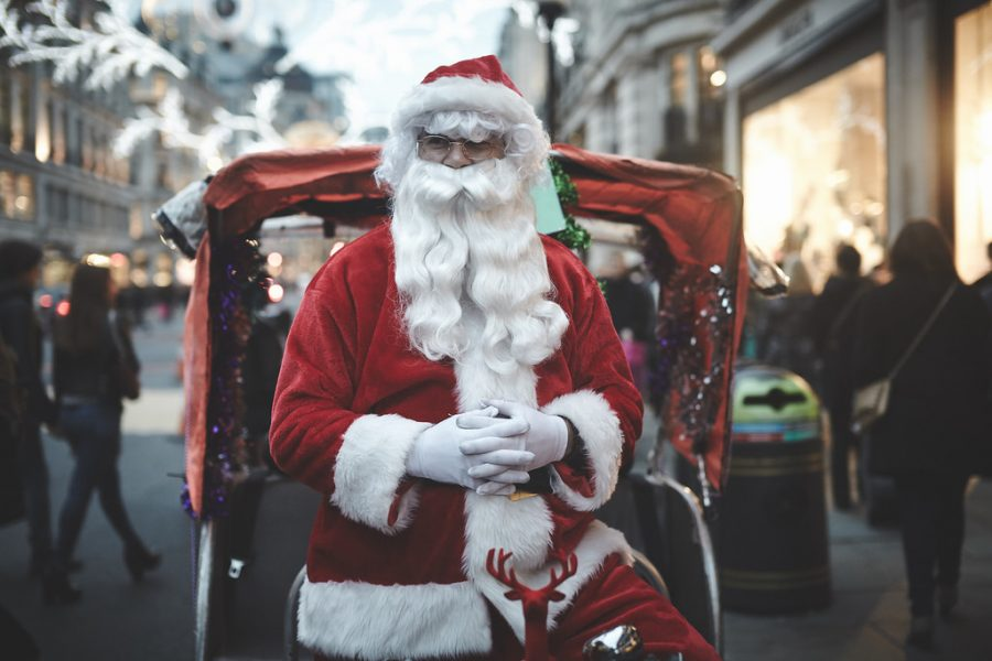 The Santa that Received a Gift of his Own