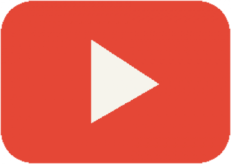 The logo of Youtube who sponsors the rewind every year.