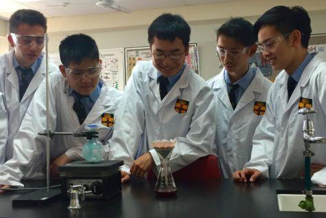 The 17-year-olds from Sydney Grammar recreated Pyrimethamine in their high school laboratory.