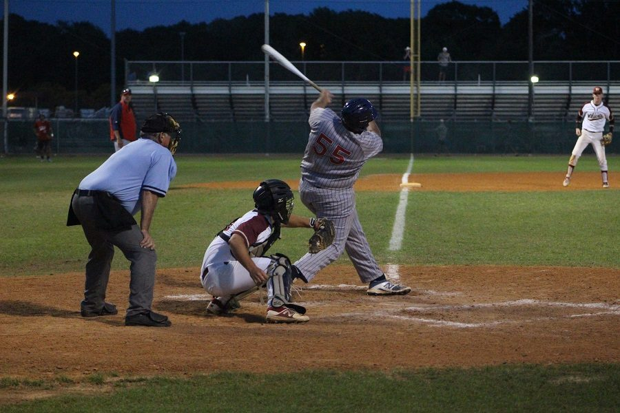 A swing and a miss from a Cy Springs batter as the Wildcats took a 3-1 victory off the arm of pitcher Robert Howard.