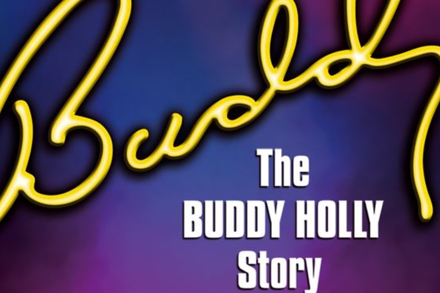 The original poster for The Buddy Holly Story