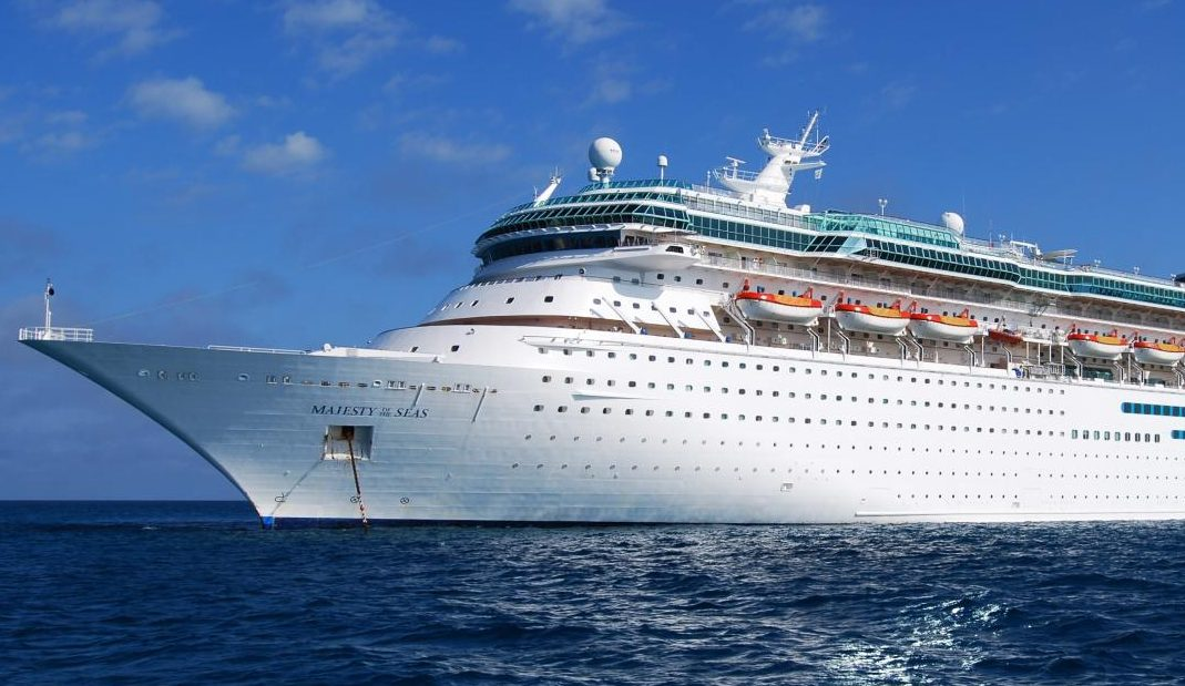 Here is a picture of the cruise ship Majesty of the Seas.