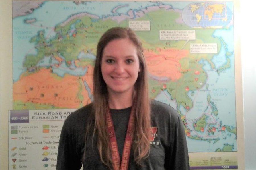 World history teacher, Amanda Gillihan.
