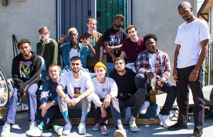 Boy band Brockhampton