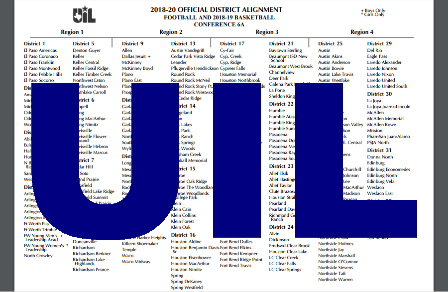 UIL+Realignment+Changes+Competition