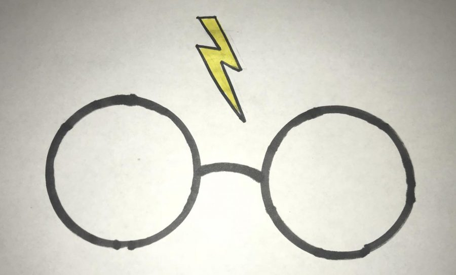 A+Harry+Potter+inspired+drawing.