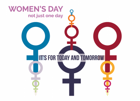 One of the symbols celebrating International Women's Day on March 8.