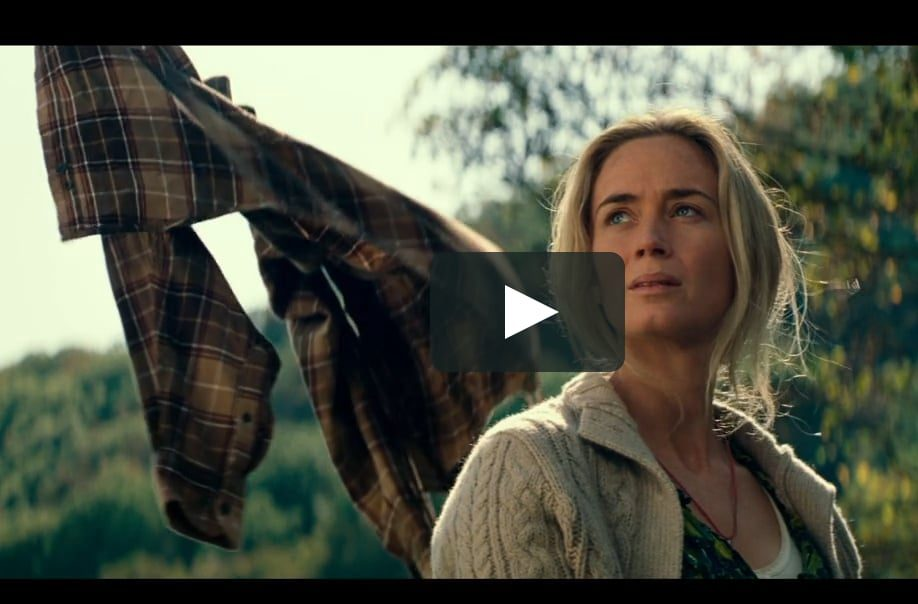 Emily Blunt plays mother, Evelyn Abbott in A Quiet Place.