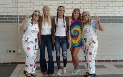 Decades Day. Wear 60's, 70's or 80's fashion.
