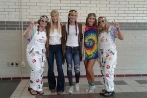 Decades Day. Wear 60s, 70s or 80s fashion.