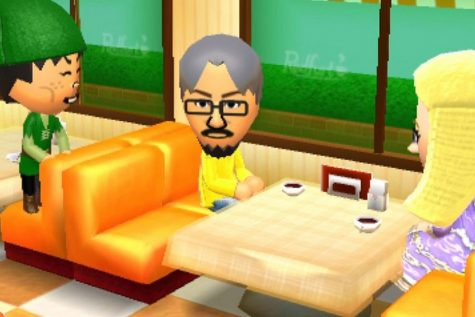 The Mii on the left is interrupting the Mii in the middle's confession. Who will the Mii on the right choose?