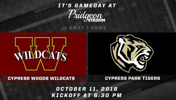 Cy Woods vs Cy Park game information
