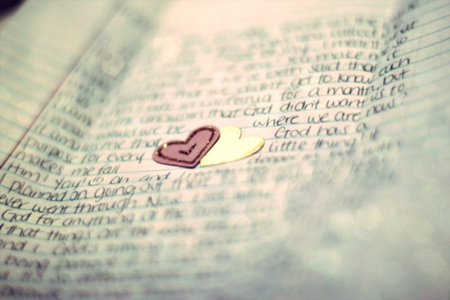 A stack of letters to represent Lara Jean's love letters to her crushes.