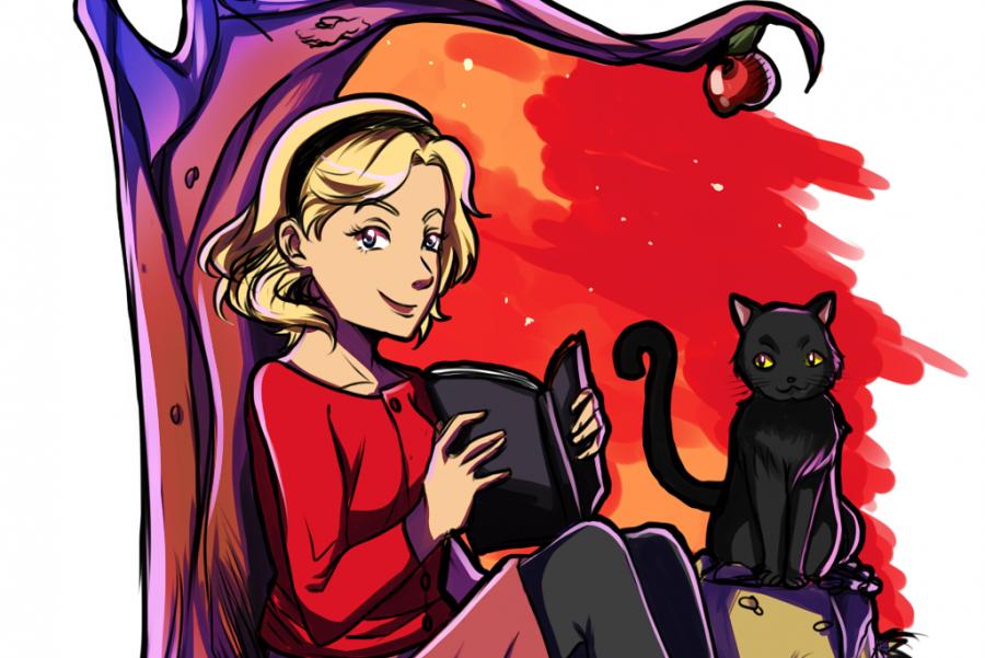 Classic+Sabrina-+Archie+Comics+Sketch
