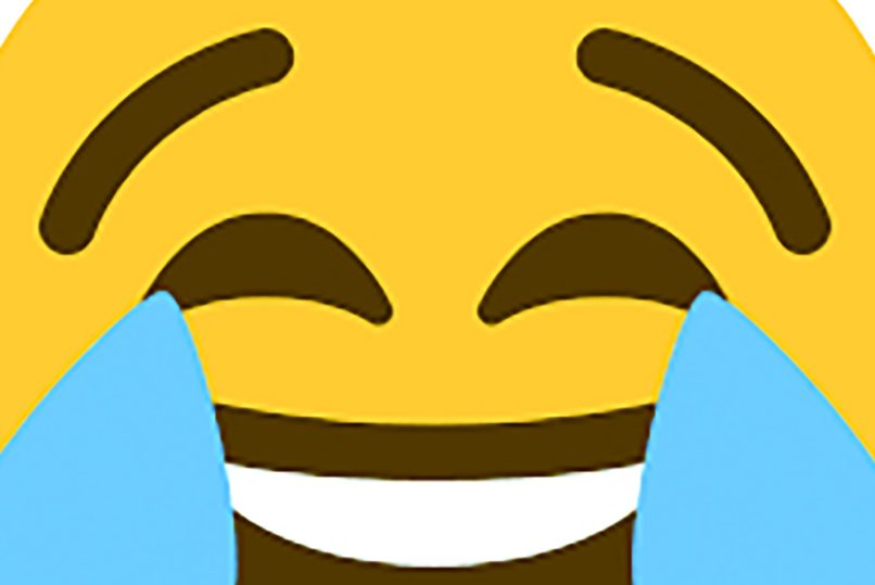 A laughing emoji to show this story isn't about your everyday sports.