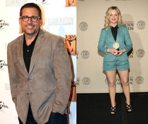 Steve Carell who plays Michael Scott in The Office and Amy Poehler who plays Leslie Knope in Parks and Recreation