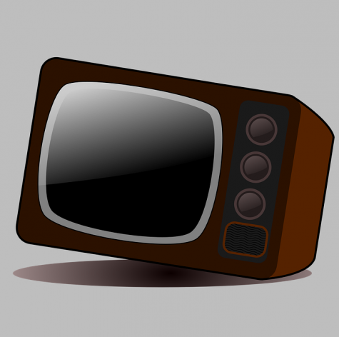 A photo of a TV.