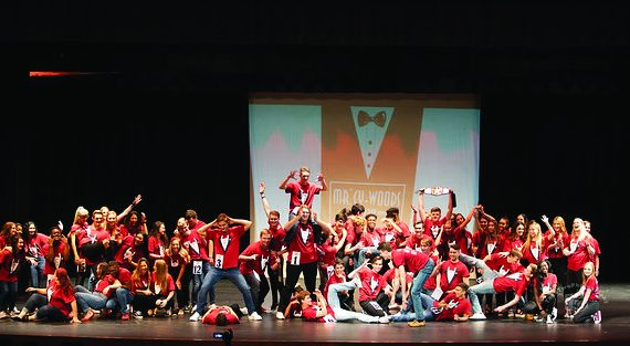 The Mr Cy Woods contestants