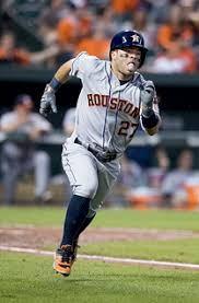 Jose Altuve Running to another base