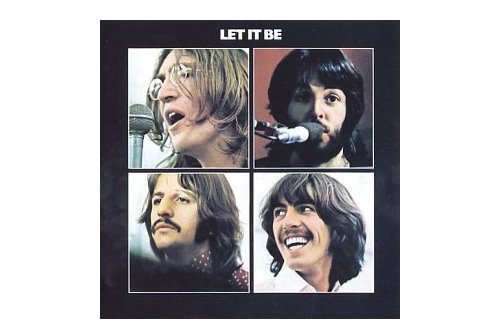 Let It Be album cover, designed by John Kosh and published by Apple records.