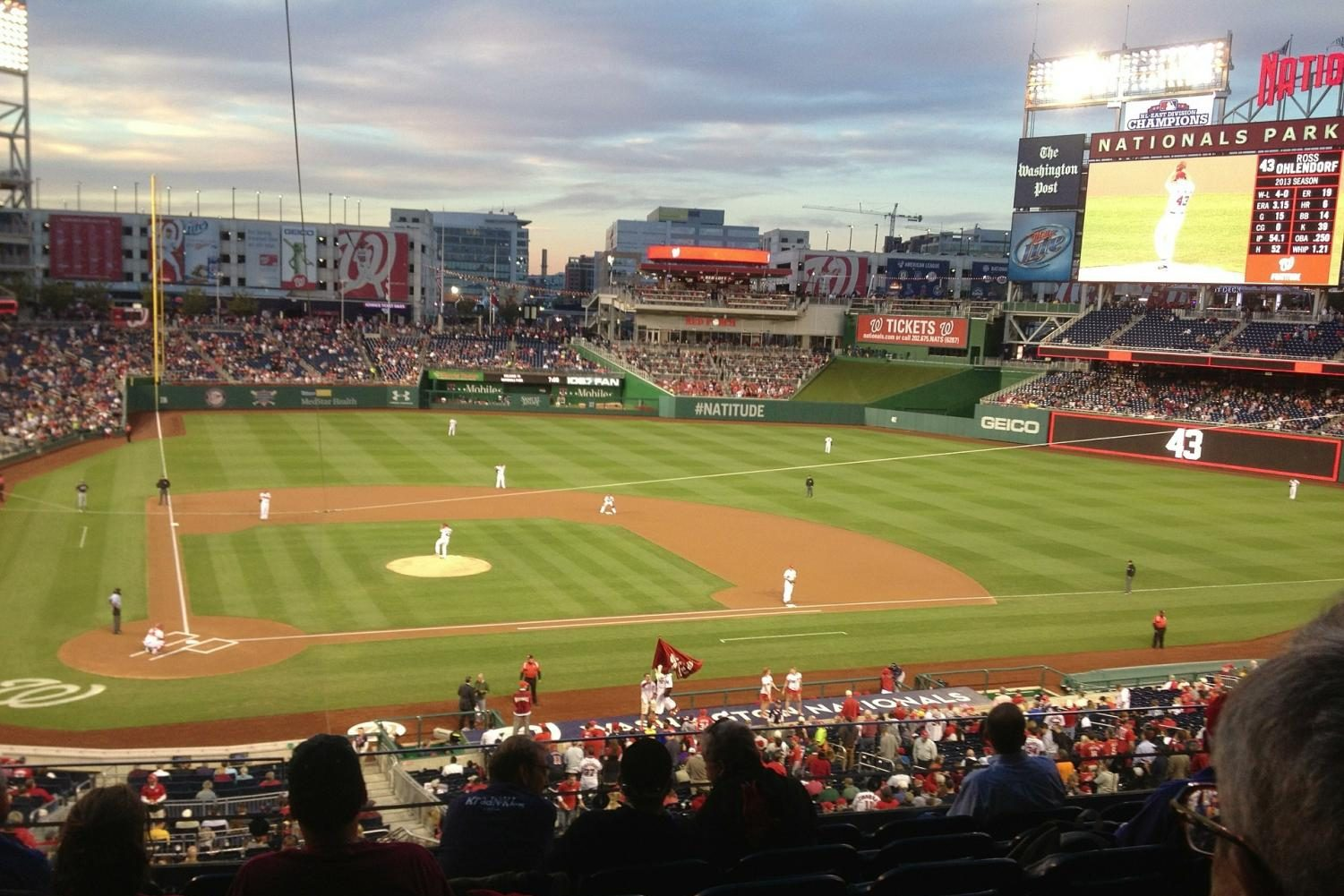 Nationals Stadium during the 2019 National League Game