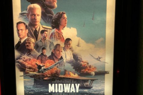"Poster for the movie ""Midway,"" in theaters everywhere."