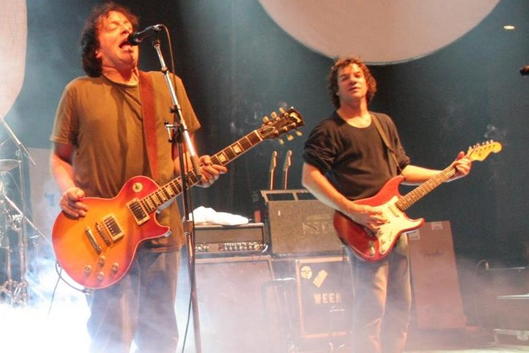 Ween performs in Edmonton, Alberta, Canada on November 17, 2007.