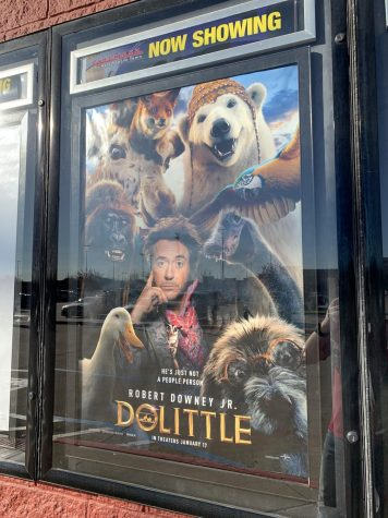 A poster for the exceptionally bad movie, Dolittle.