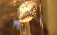 The Vince Lombardi Super Bowl trophy.