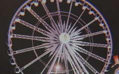 The La Grande Wheel XL is quite a popular ride at the HLSR and here it is lit up at night.