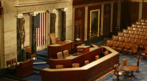 The House of Representatives chamber at the U.S. Capitol building